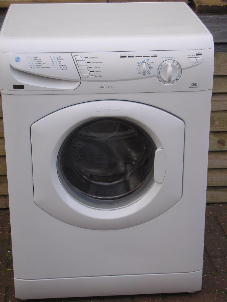Hotpoint Aquarius Washing Machine Wf 321 In Very Good