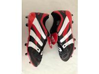 Adidas Predator Accelerator football boots UK 9.5