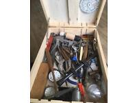 Large Collection Of Vintage Watchmaking Tools