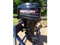 MERCURY OUTBOARD ENGINE 30 HP 2 STROKE MARINER BOAT CRUISER FISHING RIB