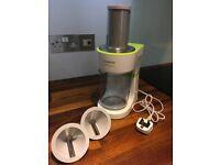 KENWOOD Electric Spiralizer FGP20 Full Working Order Food Processor Courgetti Veg Spirals Slicer