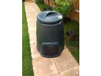 Straight 220 litre composter. Unused.