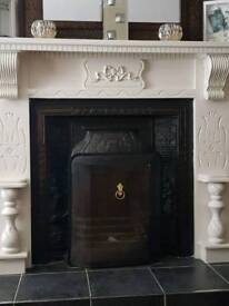 Fireplace and insert