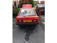 Ford escort 1988 only 80000 miles
