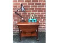 Vintage TEAK Coffee Table Trolley ROYAL APPOINTED GS Keen Mid Century Retro