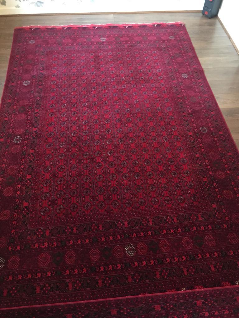 Pair of Oriental Rug Afghan Rug fine 200 X 300 CM
