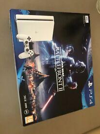 PlayStation 4 Slim rare White New Sony 12 months Pro warranty + receipt