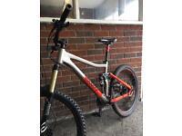 Voodoo downhill bike