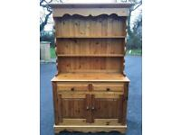 Large 4ft wide solid pine dresser with delivery