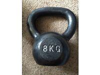 8kg Cast Iron Kettlebell (20 available)