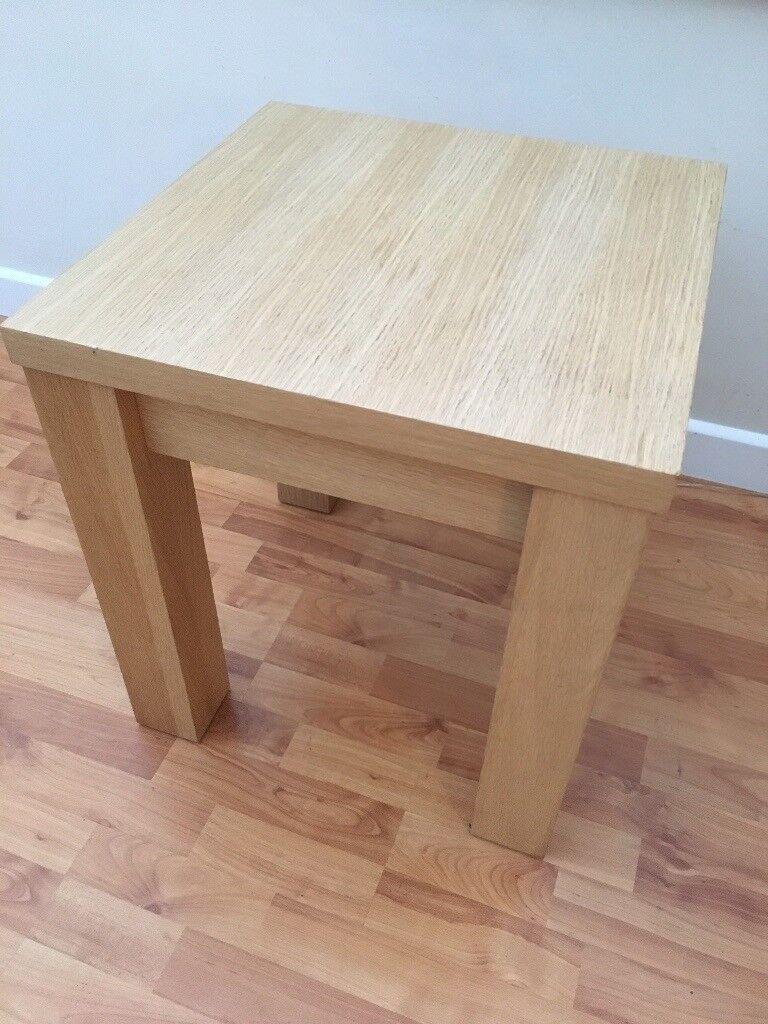 Oak Veneer Side Coffee Table From Furniture Village In Wheatley Oxfordshire Gumtree