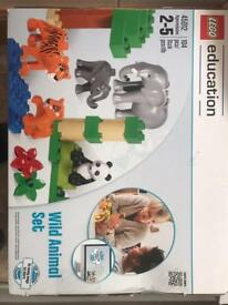 Lego duplo wild animals set