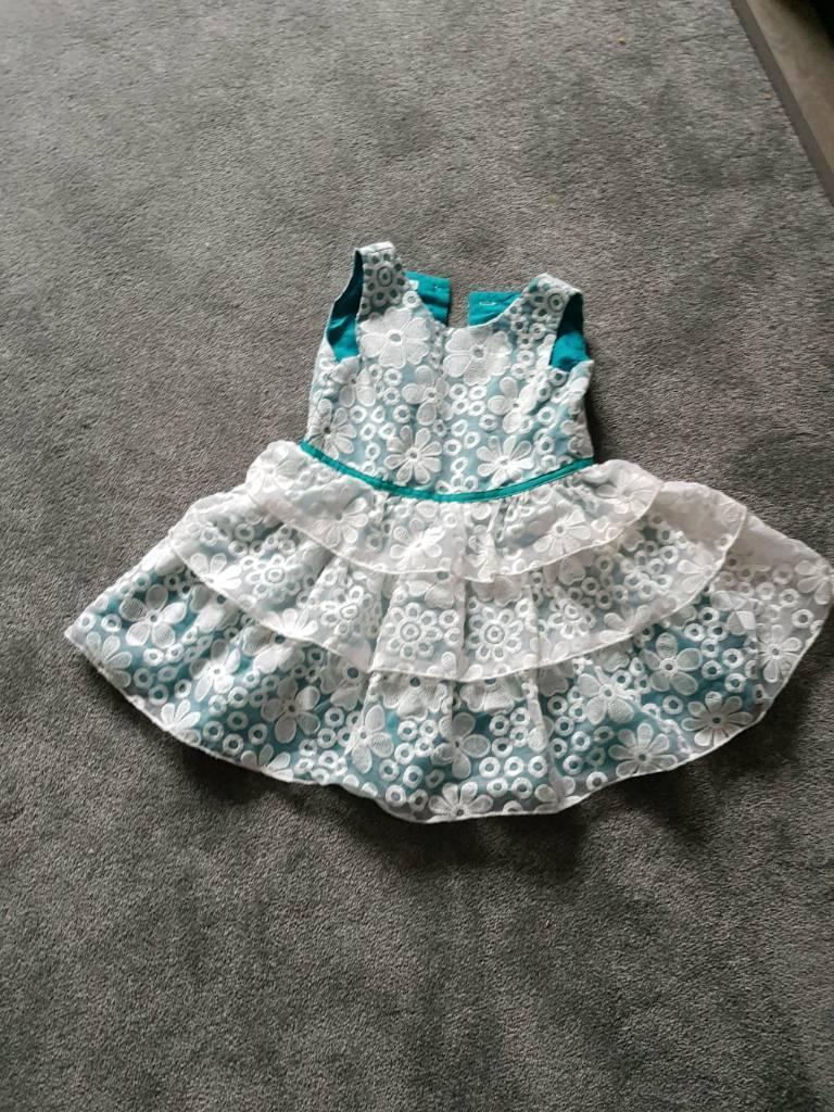 Girls John Rocha Occasion Party Dress Age 2-3