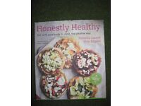Honestly Healthy Cookery Book in Hardback by Natasha Corrett and Vicki Edgson