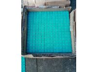 *new*mosaic tiles turquoise