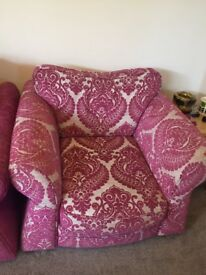 Dfs sofa suite with arm chair. Good condition smoke free home.
