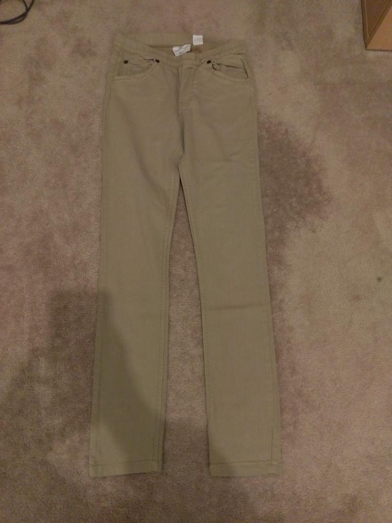 Girls tan/brown jeans