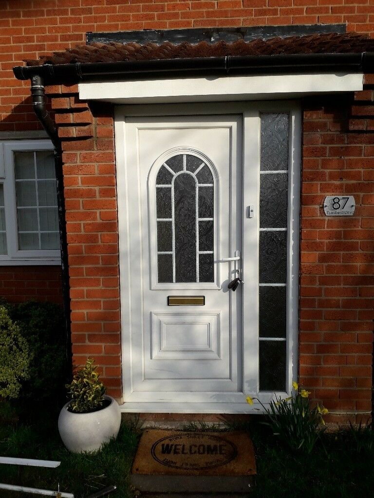 Upvc Front Door And Combination Frame In Castle Bromwich
