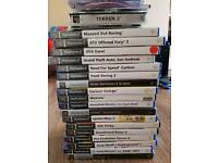 PS2 console and 32 games