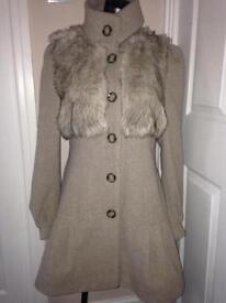 Military coat. Wool coat