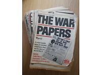 The War Papers 1-36, 38-40, 42-60, 62-64 (pub. 1976/77) -- Free to a good home (Collection Only)