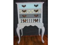 Vintage antique, Painted Chest of Drawers, Shabby Chic