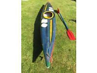 Fibre glass kayaks x2
