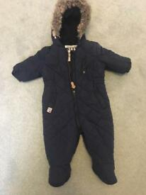 Baby Boy all in one (Navy)