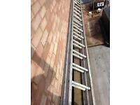 Heavy duty double ladders