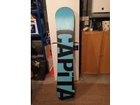 Snowboard Capita Stairmaster 156 - Good condition - Great board would suit beginners or intermediate