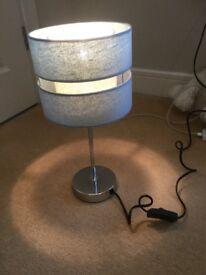 Pale blue lamp