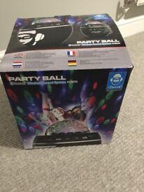Kareoke disco ball