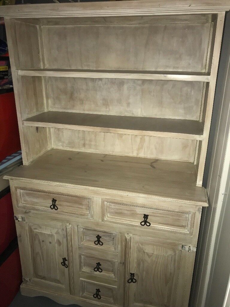 Mexican pine solid wood dresser