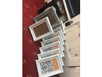 10 assorted photo frame/ wedding table numbers