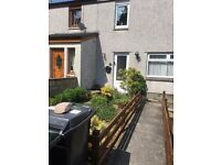 Two bedroom house and box room to let great decoration off street parking on the bus rouite
