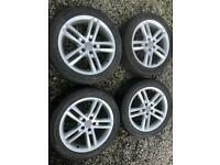 Audi a6 s line alloy wheels 18 inch