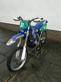 WR Yz 250, 2005 Road registered