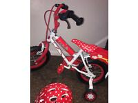Girl's Minnie Mouse Bike