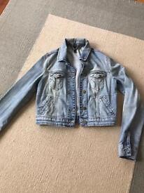 Top shop denim jacket size 10
