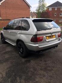 PRICE DROP. BMW X5 spares or repair
