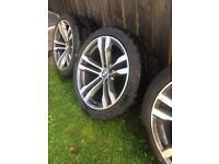 BMW X5 M50 d 20 inch alloys