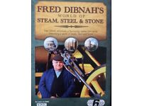FRED DIBNAH'S World of Steam, Steel and Stone