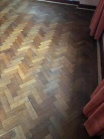 Parkay flooring for sale. Original real wood floor solid. Loads of it.