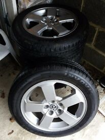 Vw wheels with tires 16""