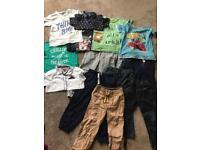 Bundle of clothes age 4/5 x 14 items