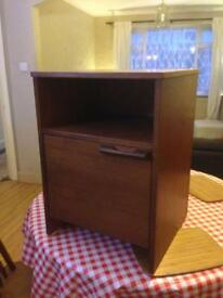 Vintage G Plan Teak Danish Style Mid Century Bedside Cupboard retro Table