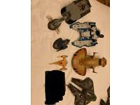 Star Wars bundle of 7 x various ships and vehicles