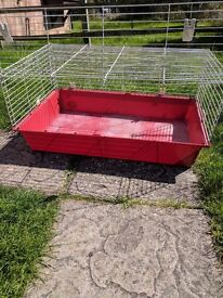 Guinea Pig Cages for sale - one single tier and one double tier