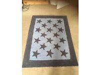 Laura Ashley Boys Nursery Rug Stars