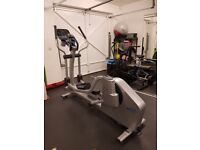 LifeFitness X8 elliptical trainer in excellent condition